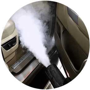 удаление запахов в автомобиле сухим туманом