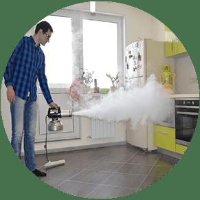 удаление запаха в помещении